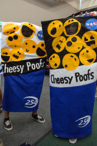 Cheesy Poof Mascots