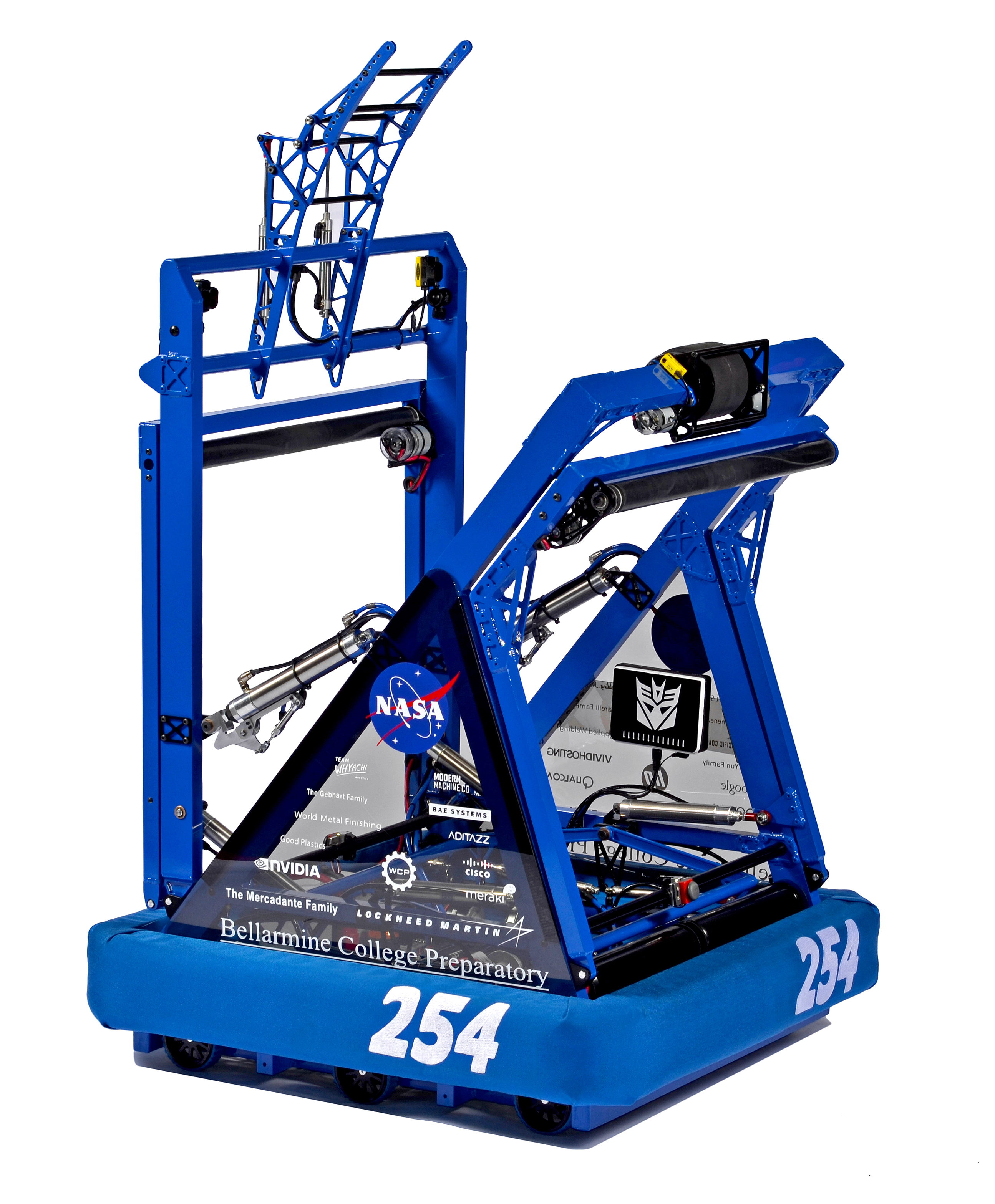 Barrage, Team 254's 2014 FRC Robot