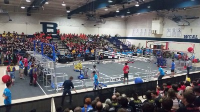First match autonomous mode begins