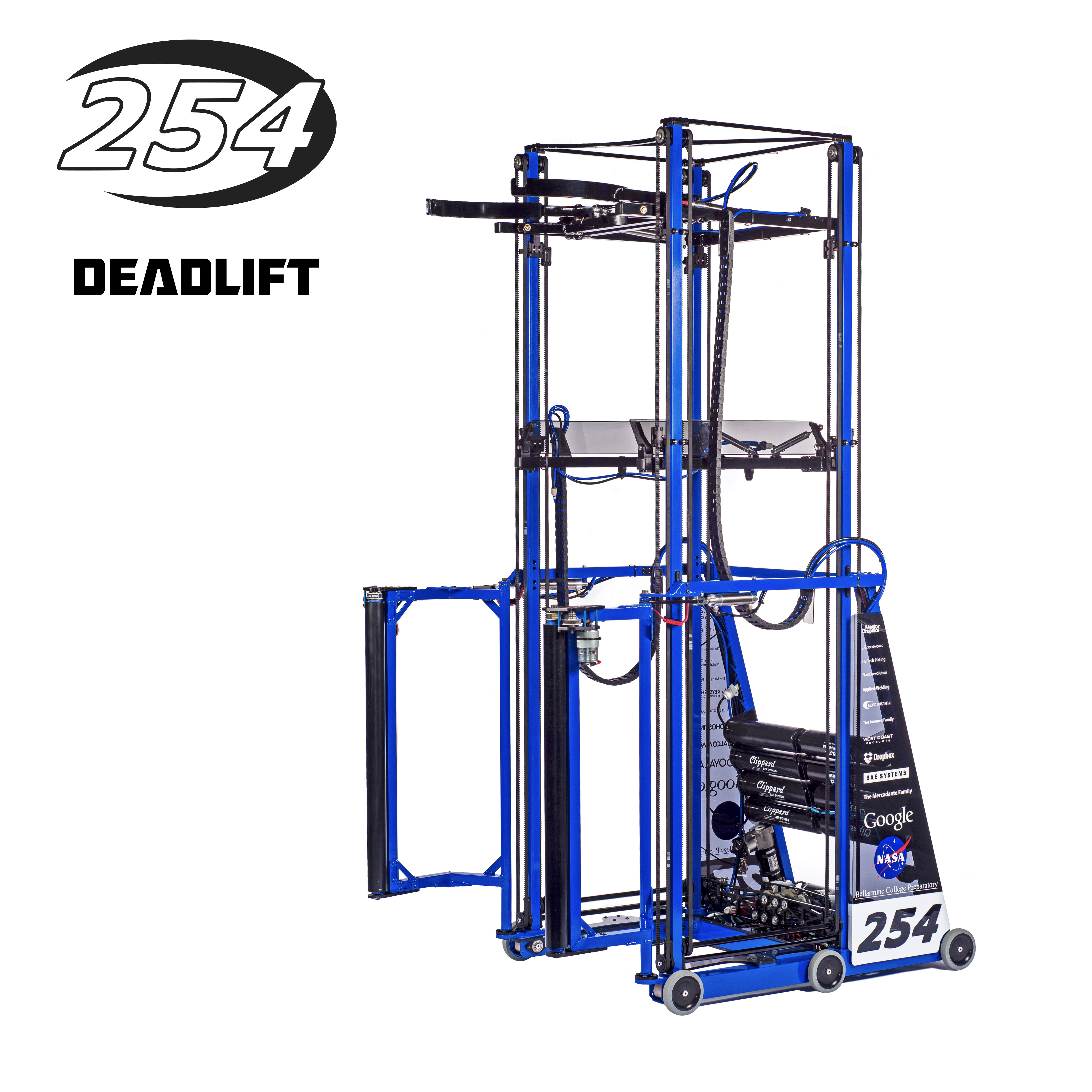 Deadlift, Team 254's 2015 FRC Robot