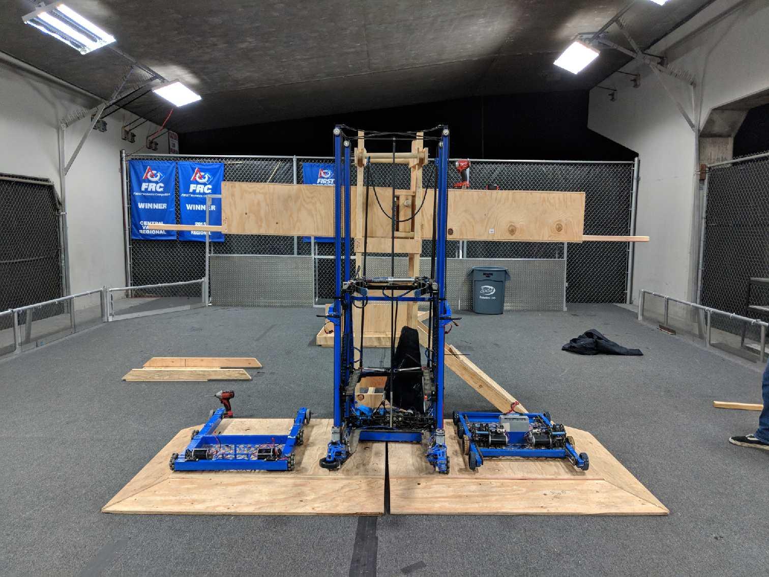 2018 FRC Build Season | Team 254