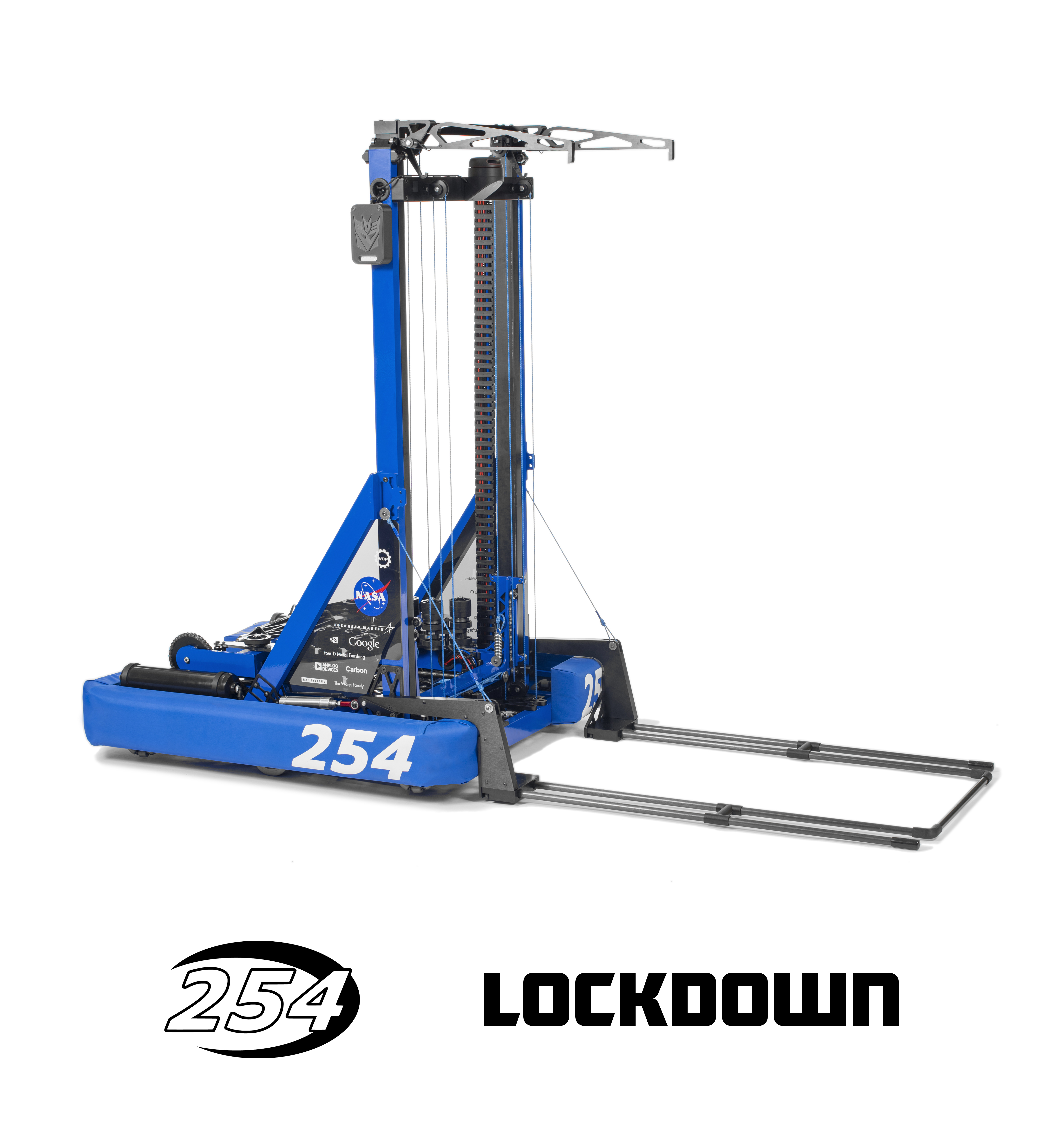 Lockdown will be competing at the Arizona North Regional, followed by the Silicon Valley Regional and the FIRST Championship in Houston.